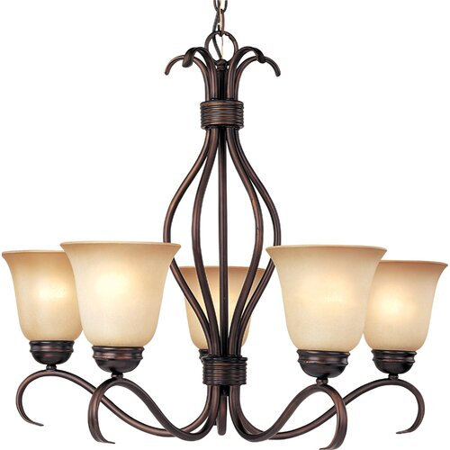 Wildon Home ® Basix ES 5 Light Chandelier - Energy Star
