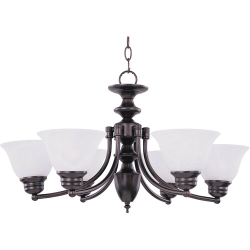 Wildon Home ® Tacet 6 - Light Single - Tier Chandelier
