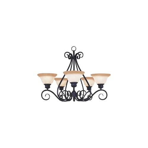 Wildon Home ® Seawind 5 - Light Single - Tier Chandelier