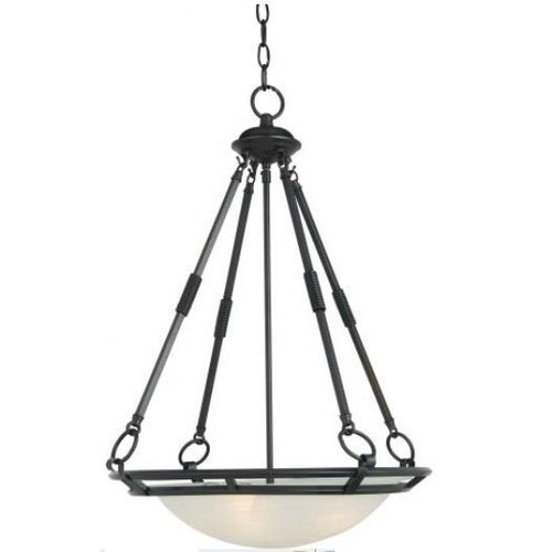 Strattford 4 - Light Invert Bowl Pendant