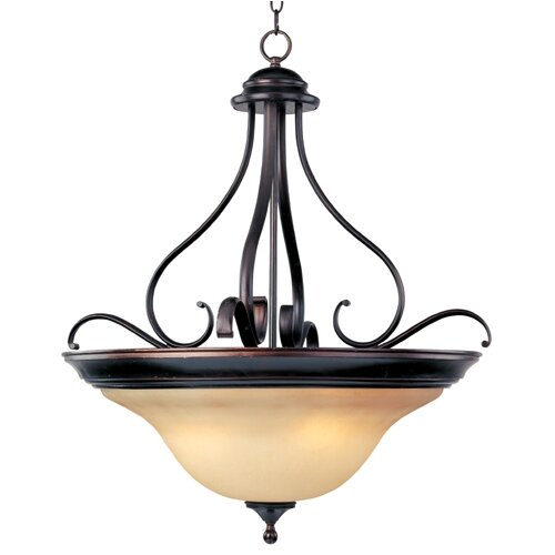 Wildon Home ® Sandorini 4 - Light Invert Bowl Pendant