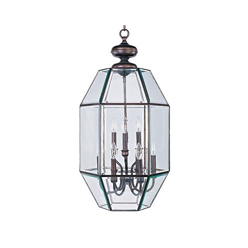 Wildon Home ® Bound Glass 9 Light Foyer Pendant