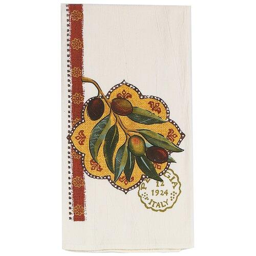 Olive Presse Design Flour Sack Towel (Set of 3)