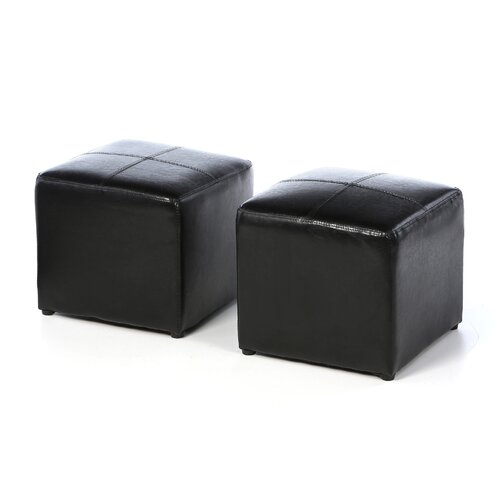 Convenience Concepts 3 Piece Designs4Comfort Sheridan Storage Bench Ottoman