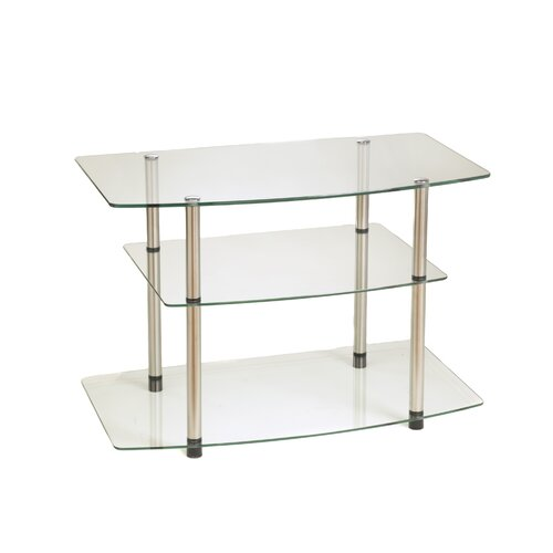 "Convenience Concepts Classic Glass 32"" TV Stand"