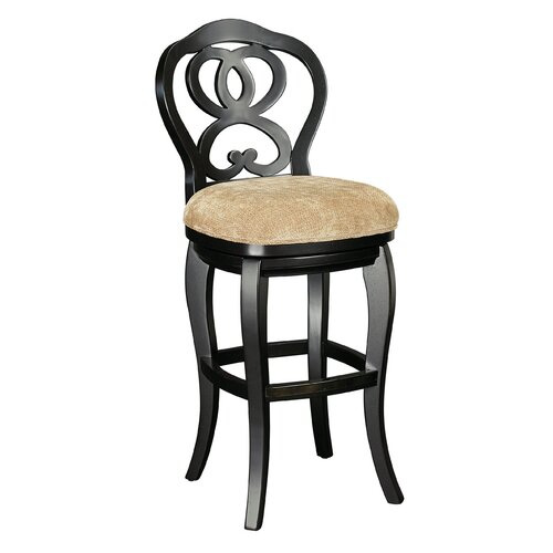 Hidden Treasures Swivel Bar Stool