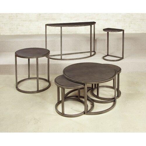 Rotation Coffee Table With Nesting Stools Wayfair
