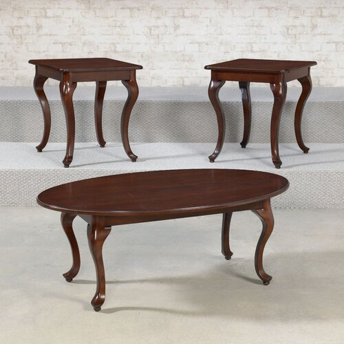 Clarendon 3 Piece Coffee Table Set