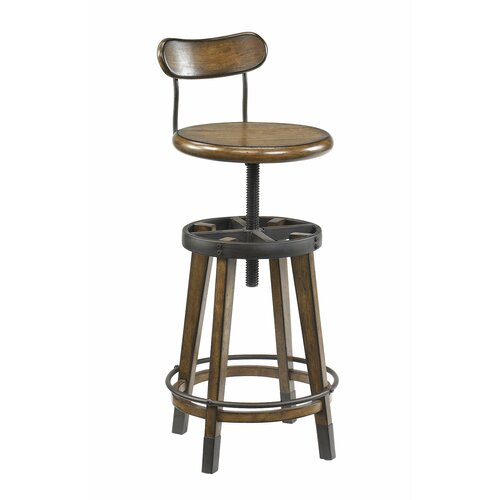 Hammary Studio Home Adjustable Height Swivel Bar Stool  : Hammary Studio Home Adjustable Height Swivel Bar Stool 166 948 from www.wayfair.com size 500 x 500 jpeg 25kB