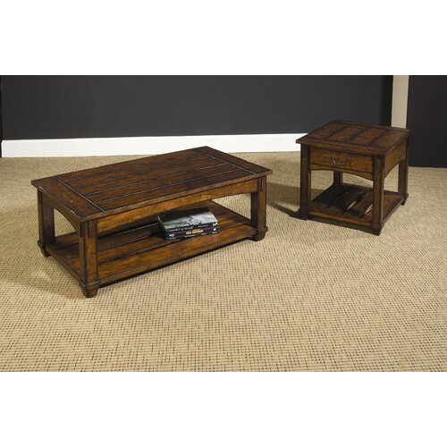 Hammary tacoma coffee table with lift top reviews wayfair for Furniture in tacoma