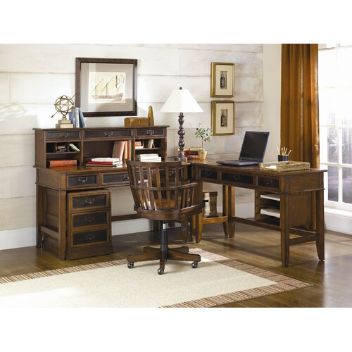 Hammary Mercantile Credenza Desk Office Suite
