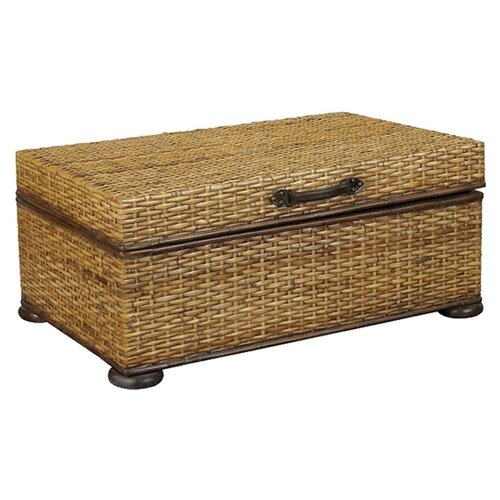 Hammary Hidden Treasures Trunk Coffee Table with Lift-Top