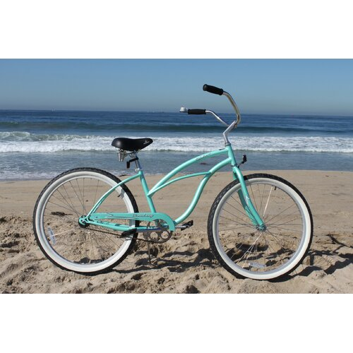 "Beachbikes Girl's Urban Lady 24"" Beach Cruiser Bike"