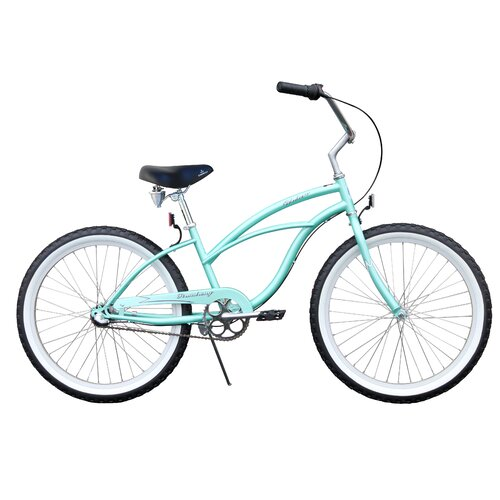 "Beachbikes Girl's Urban Lady 24"" 3 Speed Beach Cruiser Bike"