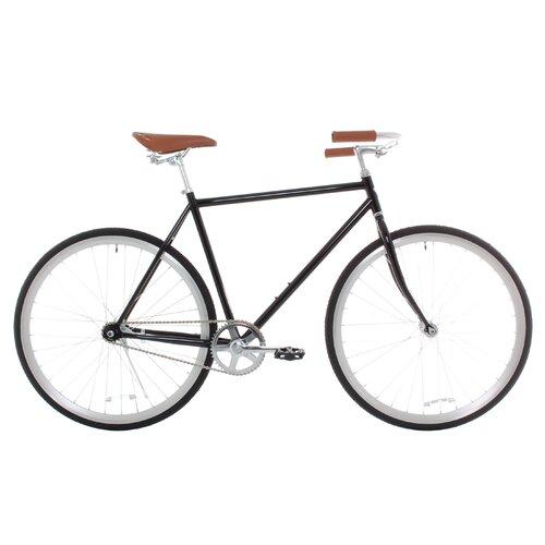 Men's Classic Urban Commuter Single Speed Hybrid Bicycle