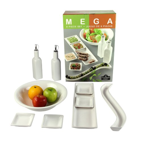 Mega Accessory 9 Piece Place Setting