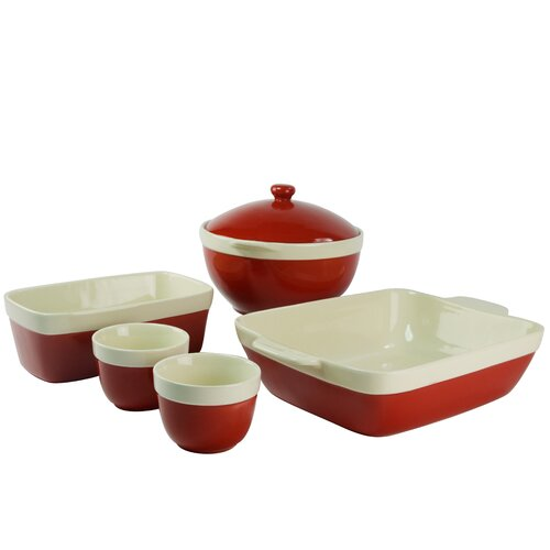 Milano 5 Piece Bakeware Set