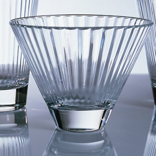 Ten Strawberry Street Optic Durobor 13 oz. Double Old Fashioned Glass