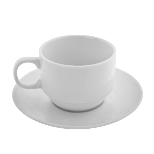 Ten Strawberry Street Bistro Teacup and Saucer