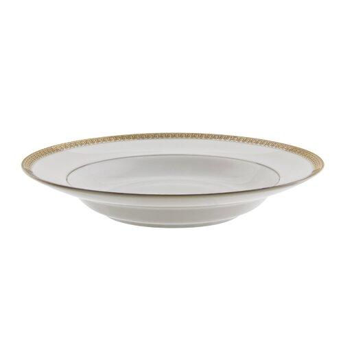 Ten Strawberry Street Luxor Gold 8 oz. Rim Soup Bowl