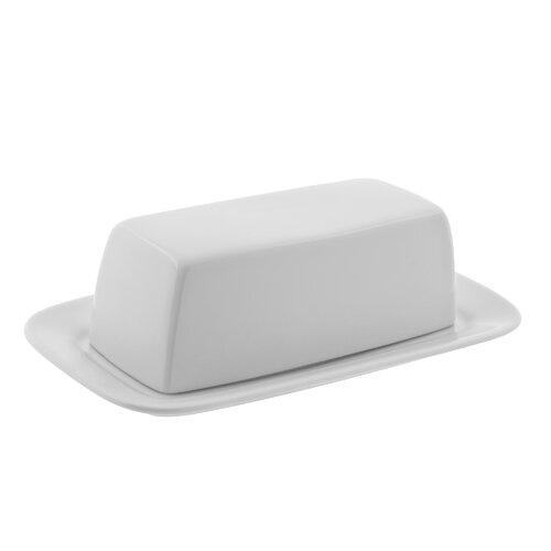 Ten Strawberry Street Classic White Butter Dish