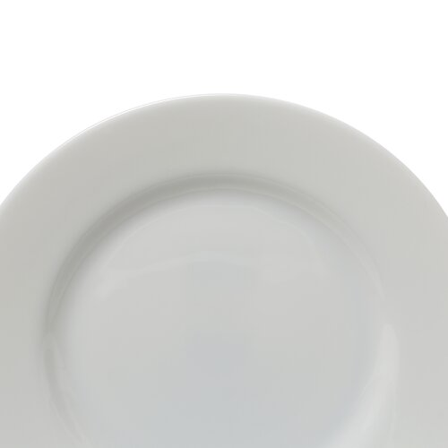 "Ten Strawberry Street Classic White 8"" Salad / Dessert Plate"
