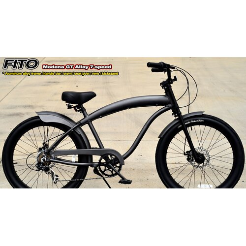 Men's Modena Alloy GT Shimano 7-Speed Beach Cruiser Bike