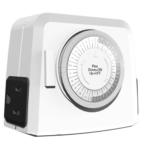 24 hr Outlet Heavy Duty Timer