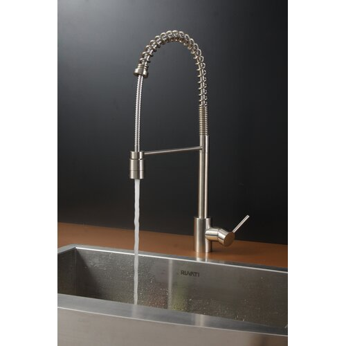 "Ruvati 30"" x 21"" Kitchen Sink with Faucet"