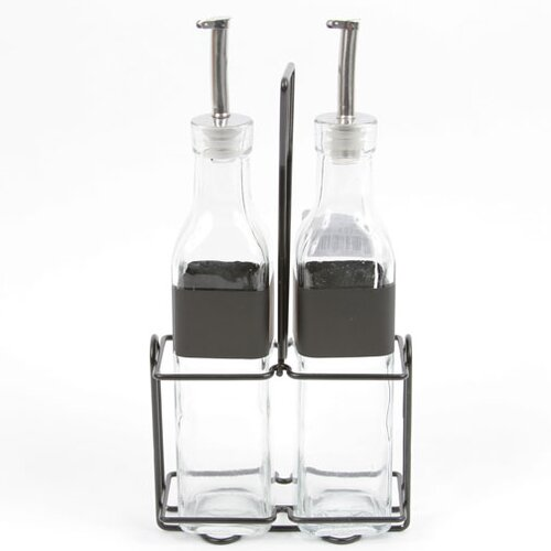 DEI Farm to Table Glass Cruet Set