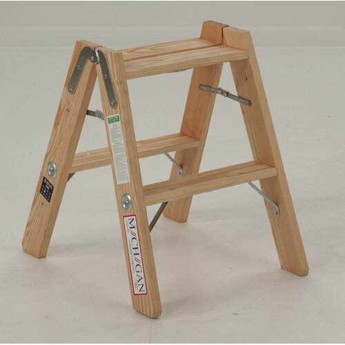 Michigan Ladder 2-Step Double Front Step Stool