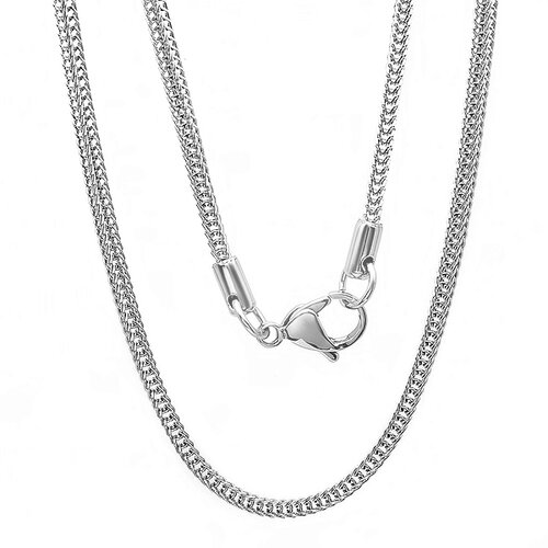 Steeltime Stainless Steel Chain Necklace