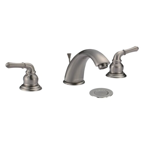 Fawn Double Handle Widespread Bathroom Faucet with Pop-up Drain
