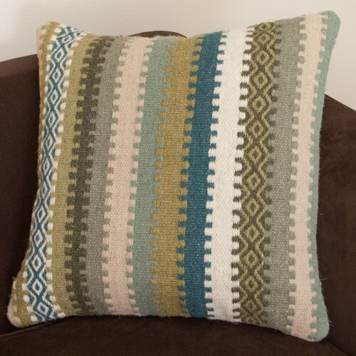 Wool Stripe Pillow