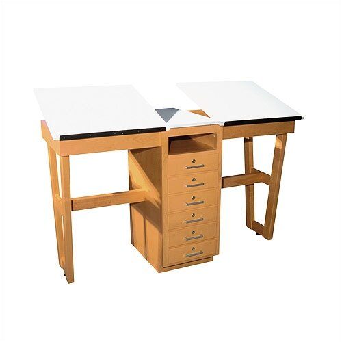 "Shain A-Frame Two Station 60""W x 24""D  Work Table"