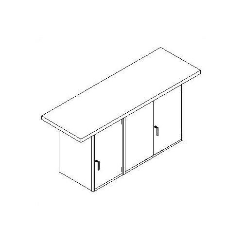 Shain Double Door Cabinet Workbench