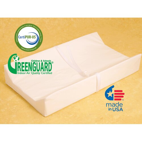 Muniré Furniture Nursery Essentials Contour Changing Pad with Nylon Cover