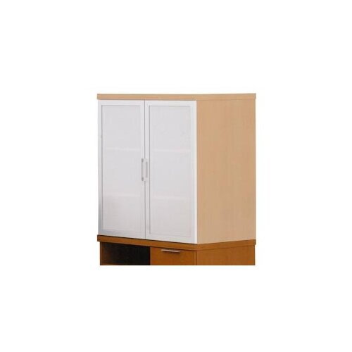 "ABCO Unity Executive Series 35"" Floating Mixed Storage Cabinets"