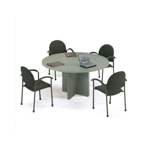 ABCO Bull Nose 4' Round Conference Table
