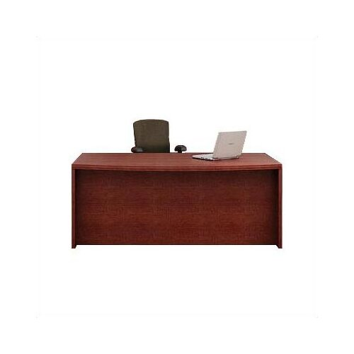 ABCO Unity Arc Executive Desk with Left Hanging Pedestal
