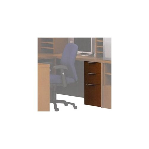 "ABCO Unity Executive Series Wood Floating Pedestal, 21-7/8"" D"
