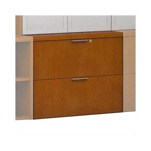 ABCO Unity Executive Series 2-Drawer Wood Floating  File