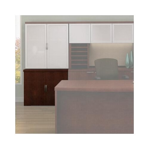 "ABCO Unity Executive Series 35"" Floating Double-Door Storage Cabinets"