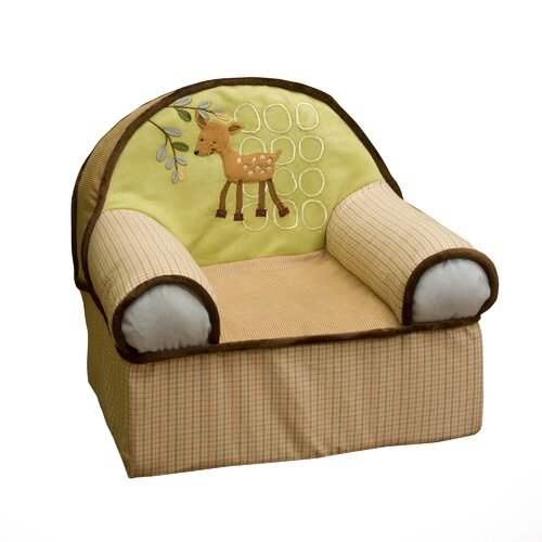 Lambs & Ivy Enchanted Forest Kid's Recliner