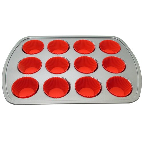 12 Muffin Baking Pan with 12 Cup