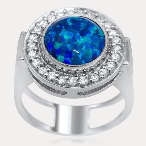 Luxury Sterling Silver Gemstone Ring