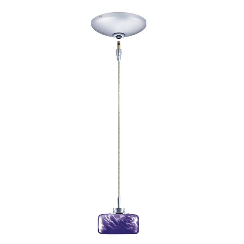 Jesco Lighting Elaine 1 Light Pendant and Canopy Kit