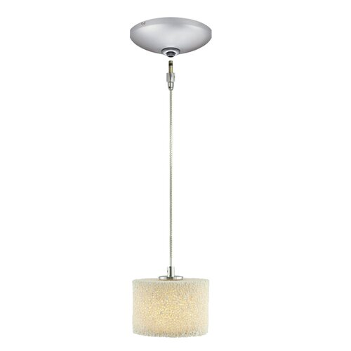 Coral 1 Light Pendant and Canopy Kit