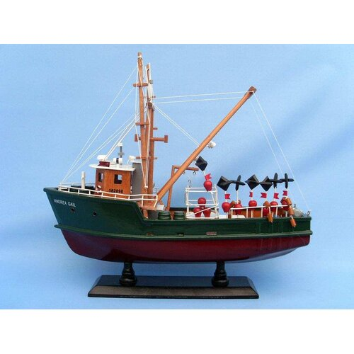 Handcrafted Model Ships Andrea Gail - The Perfect Storm Fishing Model Boat