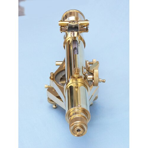 Handcrafted Model Ships Dumpy Level Top Bubble and Transit Decorative Telescope